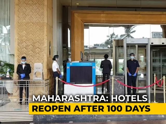 Video : Hotels Reopen In Mumbai Amid Rising Coronavirus Cases