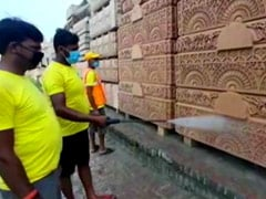 रामजन्मभूमि मंदिर के पुजारी प्रदीप दास और सुरक्षा में लगे 14 पुलिसकर्मी कोरोना पॉजिटिव