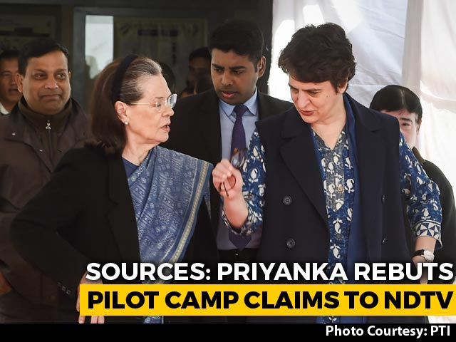 Video : Sachin Pilot Said Must Be Named Chief Minister In A Year: Team Priyanka