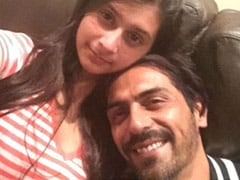 Arjun Rampal's Sunday Was Made Special By Son Arik And Daughter Mahikaa