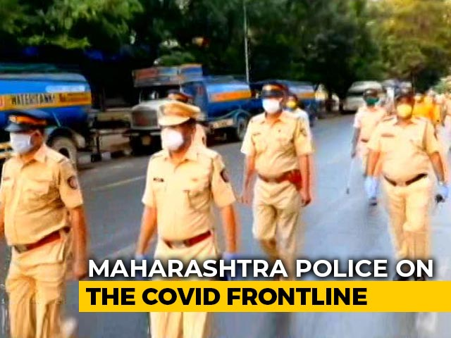 Video : How Maharashtra Cops Are Fighting COVID-19 Challenge