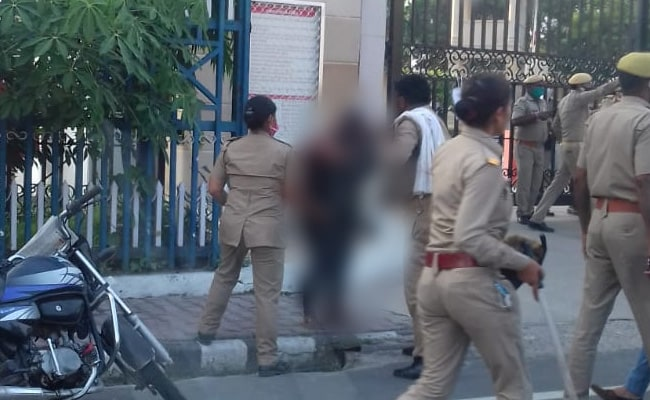Woman, Daughter Set Themselves On Fire In UP, 3 Cops Suspended