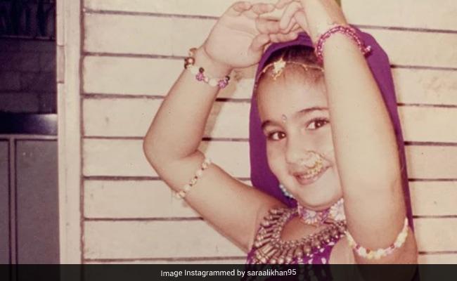 ICYMI: 'Bangle Ke Peeche' Kaun Hai? Little Sara Ali Khan