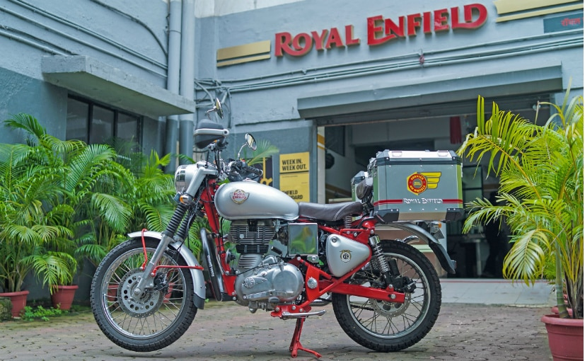 Royal Enfield has deployed over 800 units of its 'service on wheels' motorcycles across India