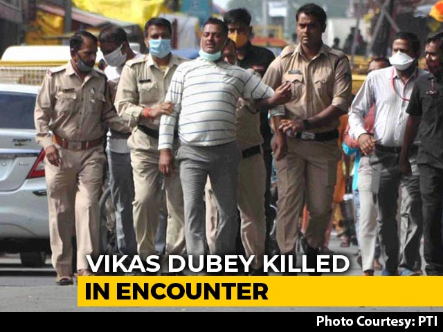 Video : Gangster Vikas Dubey Killed In Encounter While Being Taken To Kanpur