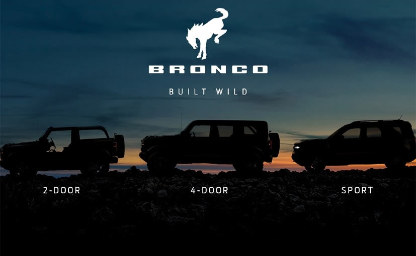 The latest teaser reveals all three body styles of the Ford Bronco.