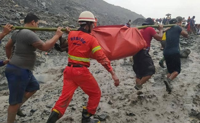 More Than 160 Dead In Myanmar Jade Mine Landslide