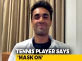Video : Coronavirus: 20-Year-Old Tennis Player 'Raps For Impact'