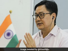 Kiren Rijiju Interacts With Sports Ministers Of 17 States, Union Territories