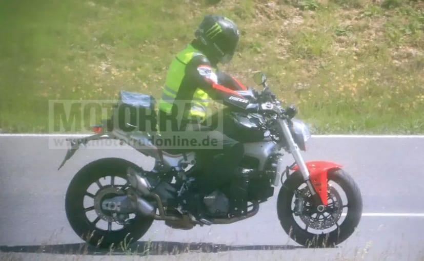 2021 Ducati Monster Revealed In Spy Shots