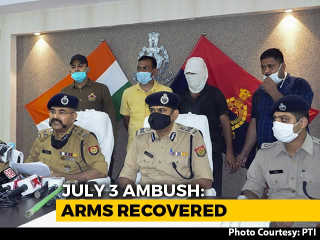 Video : Rifles Looted During Kanpur Ambush Found, 1 From Vikas Dubey's Home: Cops