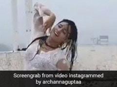 इस एक्ट्रेस ने ऐश्वर्या राय और रवीना टंडन के गानों पर Rain में किया धांसू Dance, Video हुए वायरल