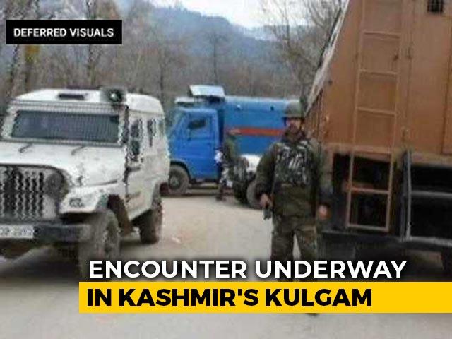 Video : 3 Jaish Terrorists Killed In Encounter In Jammu and Kashmir's Kulgam