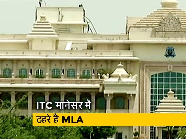 Video : ITC मानेसर में ठहरे हैं सचिन पायलट के समर्थक विधायक