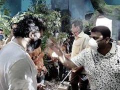 "Kiccha Sudeep Starts Filming <i>Phantom</i>; Says, ""Have Taken Steps To Remain Safe"""