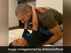 "Shikhar Dhawan Says Getting Zoraver Out Of Bed Every Morning Is The ""Toughest Task"""