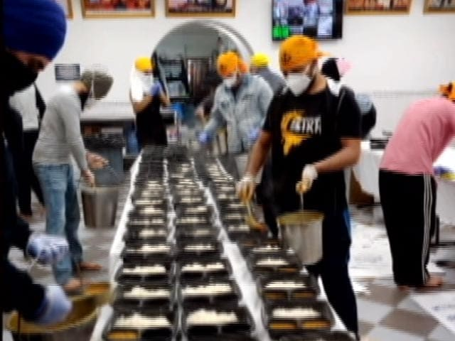 Video : From Pandemic To Protests, Sikhs Set-up Langar, Offer Free Food To People In Need