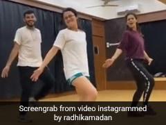 'अंग्रेजी मीडियम' की एक्ट्रेस राधिका मदान ने 'नाचन नु जी करदा' पर यूं किया डांस, वायरल हुआ Video