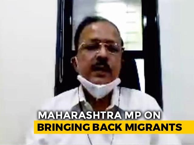 Video: Maharashtra MP Speaks To NDTV On COVID-19, Migrants