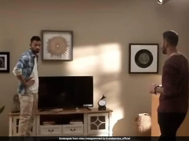 Hardik Pandya Makes Me Do More Takes: Krunal Pandya Shares Funny Video From Ad Shoot