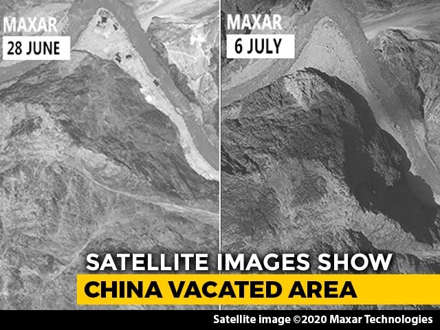Video : Chinese Troops Withdraw 2 km In Galwan Valley, Show New Satellite Images