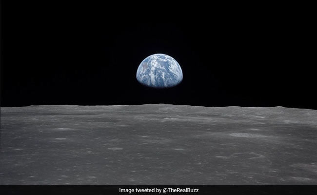 Moonwalker Buzz Aldrin Shares A 'View Of Home', Taken From Space In 1969