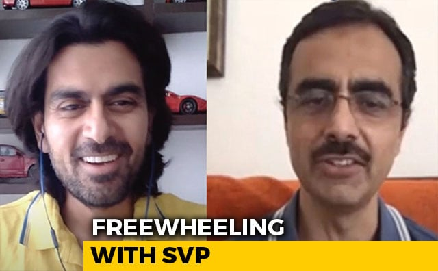 Video : Freewheeling With SVP: Live With Ashutosh Pandey, MFCW