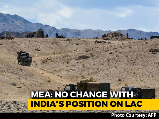 Video : India Categorically Denies Giving Up Territory In Ladakh To China
