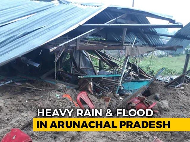 Video : 8 Killed In Landslides In Arunachal Pradesh, Flood Alert Issued