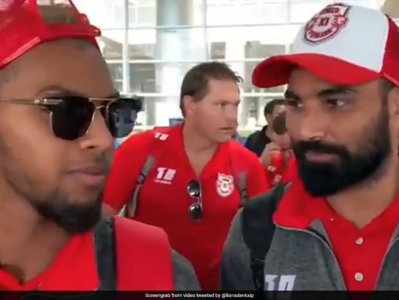 Mohammed Shami Gives Nicholas Pooran Hindi Lessons In Funny Video. Watch