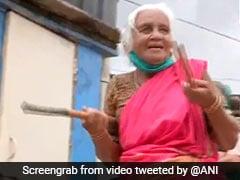 ஒரே நாளில் உலக வைரலான 85 வயது 'சிலம்பம் பாட்டி'… அடுத்த வீடியோ!