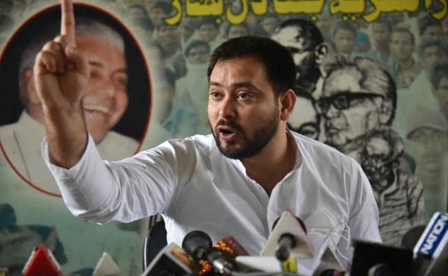 'Bihar Letting Its Police Get Insulted': Tejashwi Yadav Stings Nitish Kumar