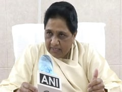 """Looking To Teach Ashok Gehlot Lesson"": Mayawati Amid Rajasthan Fight"