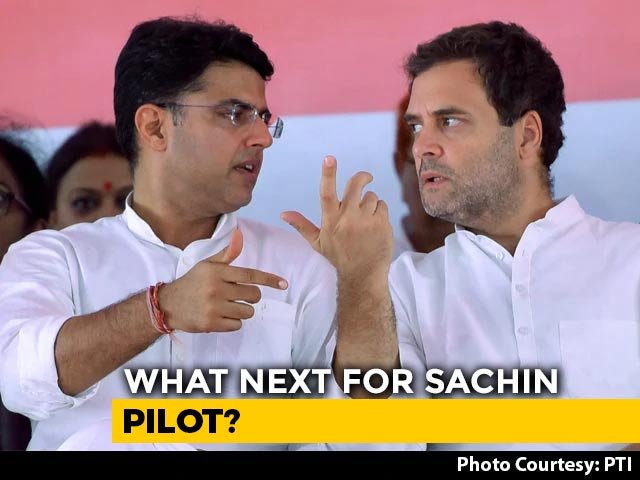 Video : Rahul Gandhi Keen To Keep Door Open For Sachin Pilot: Congress Sources