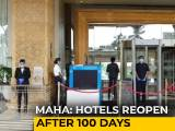 Video : Hotels Reopen In Mumbai Amid Rising Coronavirus Cases