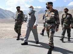 In Pics: PM Modi's Visit To Ladakh To Meet Troops