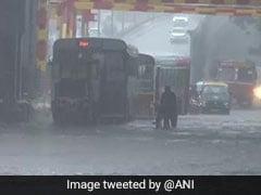 "Rain Red Alert In Mumbai: ""Don't Go Into Waterlogged Areas"""