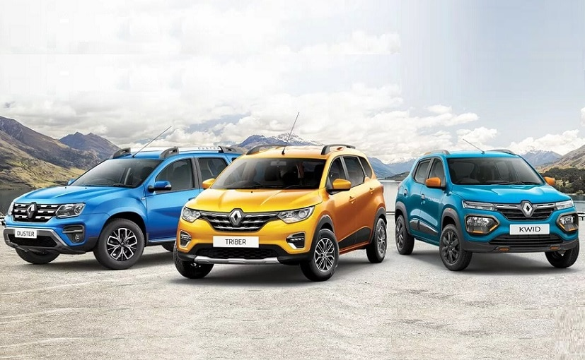 Renault India is offering discounts on the Kwid, Duster and the Triber