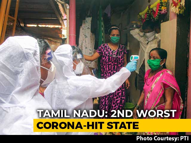 Video : Tamil Nadu Crosses 1 Lakh-Mark, Records 4,329 Coronavirus Cases In A Day