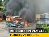 Video : Vehicles Set On Fire In Bengal After Alleged Gang-Rape, Murder Of Student