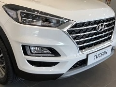 2020 Hyundai Tucson Facelift Spotted At Dealership Ahead Of India Launch
