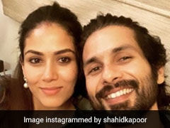 शाहिद कपूर ने इस खास अंदाज में पत्नी मीरा को 5वीं वेडिंग एनिवर्सरी पर किया Wish, शेयर की यह Pic