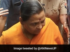 BJP's Uma Bharti Appears Before CBI Court In Babri Mosque Demolition Case
