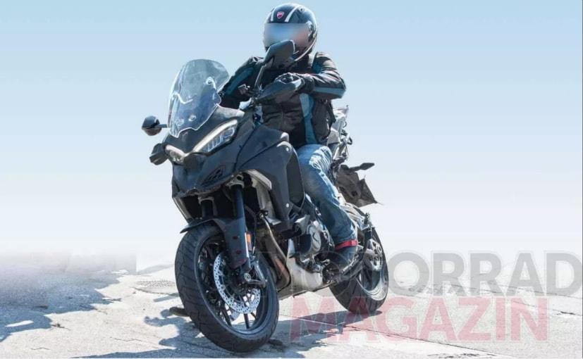The Ducati Multistrada V4 may debut as a 2021 model later this year
