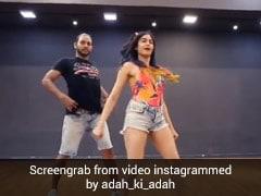 अदा शर्मा ने मेल्विन लुइस संग डांस से मचाया तहलका, बार-बार देखा जा रहा Video
