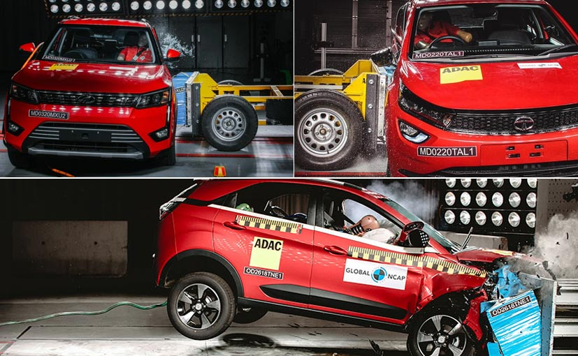 Made-in-India models have scored a 5 Star safety rating at the Global NCAP crash test.