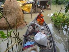 Assam Floods Claim 7 More Lives; 36 Lakh Hit In 26 Districts