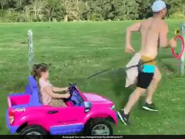David Warner fun days are over, Tied the daughter zeep with back and...VIDEO