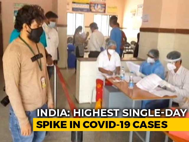 Video : Over 20,000 Coronavirus Cases In India In 24 Hours For First Time