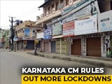 Video : Bengaluru Ends Lockdown, BS Yediyurappa Appeals For Cooperation